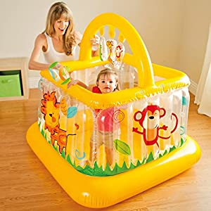 Intex 48473NP - Soft Sides Lil Baby Gym *Play Centre* Age 9-18 Months Garden Indoor Use