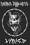 Funeral Doom Metal Lyrics: Metal Music Lyric Book