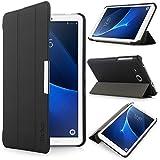 iHarbort® Samsung Galaxy Tab A 7.0 Hülle - Ultra Slim Leder Tasche Hülle Etui Schutzhülle Für Samsung Galaxy Tab A 7.0 Zoll SM-T280/ T285 Case Cover Holder,(Galaxy Tab A 7.0, Schwarz)
