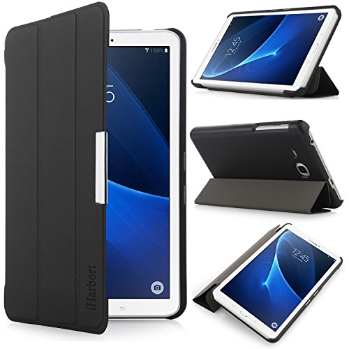 iharbort-samsung-galaxy-tab-a-70-case-ultra-slim-lightweight-shell-holder-stand-leather-case-cover-f