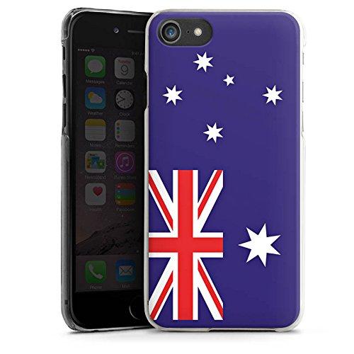 Apple iPhone X Silikon Hülle Case Schutzhülle Australien Flagge Fußball Hard Case transparent