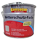 Consolan Profi Wetterschutzfarbe RM 202 grau 10 Liter