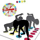 Funmo - Juego de Piso, Juego de Mesa para Familia y Fiestas, Divertidos Juegos de Habilidad para niños y Adultos