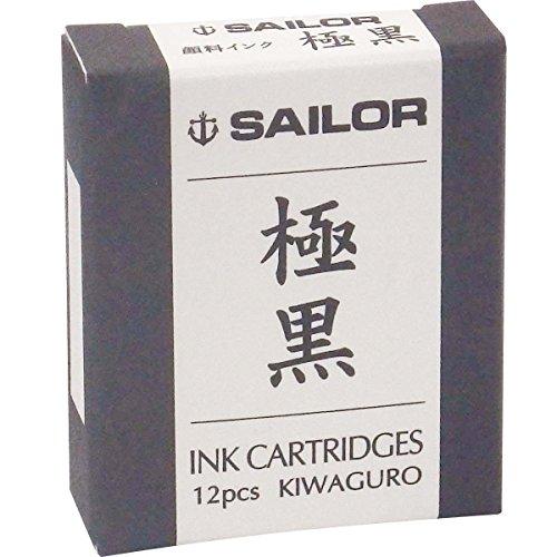 Sailor 13-0602-120 Gokukuro - Cartucho de tinta para pluma estilográfica.