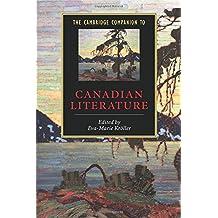 The Cambridge Companion to Canadian Literature