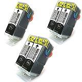 5 Patronen kompatibel zu BCI-3 BK / BCI-3e BK / PGI-5 BK ohne CHIP für CANON Pixma IP3000 IP4000 IP4000R IP5000 MP750 MP760 MP780 i550 i560 i865