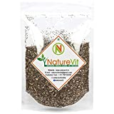 Nature Vit Black Chia Seeds for Weight Loss Omega 3, 900g