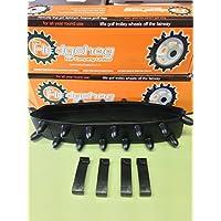1 x Original Hedgehog Golf Winter Trolley wheel cover studded tyre fit 9-10 inch