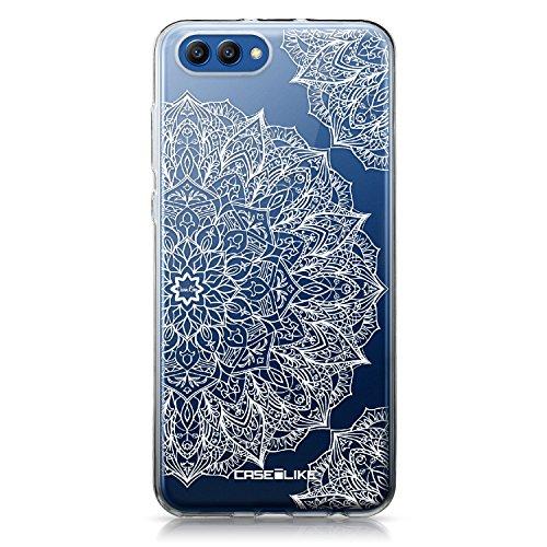 CASEiLIKE® Huawei Honor View 10 Hülle, Huawei Honor View 10 TPU Schutzhülle Tasche Case Cover, Mandala-Kunst 2091, Kratzfest Weich Flexibel Silikon für Huawei Honor View 10