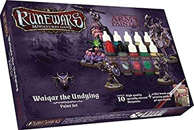 Army Painter arm08026 Rune Wars?: waiqar undying Paint Set