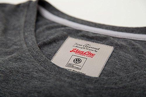 Bulli Face Classic VW Bulli Damen T-Shirt grau/pink Grau
