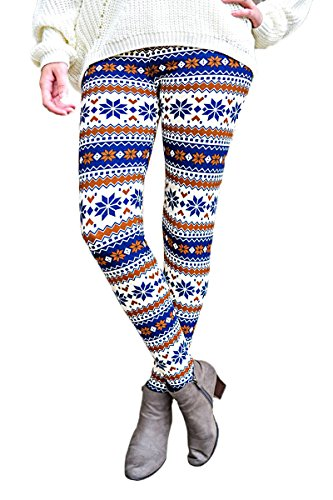 ZUMUii Damen Leggings blau blau xl -