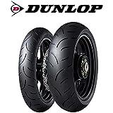 Par gomas neumáticos Dunlop Sportmax Qualifier 2II para Suzuki GSF 650Bandit tamaño delantero color 120/70ZR 1758W dot 2016tamaño trasera color 160/60ZR 1769W dot 2016