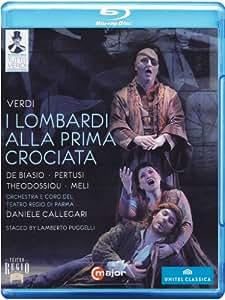 Verdi: Lombardi Crociata (Parma Festival 2009) (Roberto De Biasio/ Michele Pertusi/ Orchestra e Coro del Teatro Regio di Parma/ Daniele Callegari) (C Major: 720704) [Blu-ray] [2012][Region A & B]