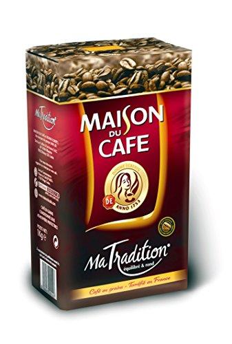 MAISON DU CAFE Ma Tradition Café en Grains 1kg - Lot de 3