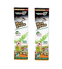 Herbo Pest MosFree 200ml Herbal Mosquito Repellent Room Spray Bottle : Pack of 2