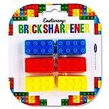 Emotionery blocs de construction Lego Brique Forme taille-crayons (fantaisie surprise de fête) 72
