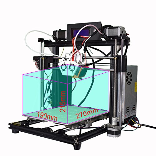 Cheapest Athorbot Dual Extruder 3D Printer 24V Ready to Print PLA ABS Nylon (Couple M10) Review