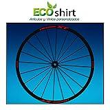 Ecoshirt 5Y-8IKC-8EXS Aufkleber Stickers Felge Shimano Deore XT 26' 27,5' Am48 MTB Downhill, Rot 27,5'