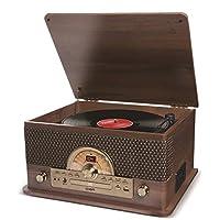ION AUDIO SUPERIOR LP 7-in 1 Retro Dizayn Müzik Sistemi Ahşap