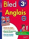 Cahier Bled - Anglais 3e - Nouveau programme 2016