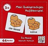 Mein Zweisprachiges Aufdeckspiel (Kinderspiel), Zu Hause, Türkisch