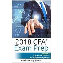 CFA Level 1 Exam Prep - Volume 4 - Corporate Finance & Portfolio Management