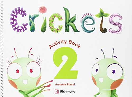 CRICKETS 2 ACTIVITY PACK - 9788466824521