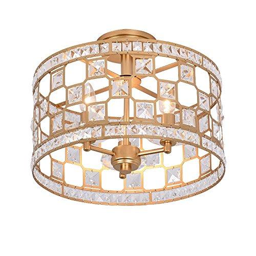 Moderne Plafonnier K9 Cristal Plafond Créatif Personnalisé Mode Clair Argenté Couleur Pendentif Éclairage Intérieur Fer Or Couleur Lampe Titulaire