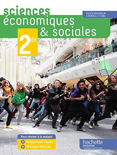 Sciences conomiques et sociales (SES) 2de grand format - Edition 2014