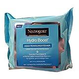 Neutrogena Hydro Boost Aqua Reinigungstücher, 25 stück beutel (1er pack)