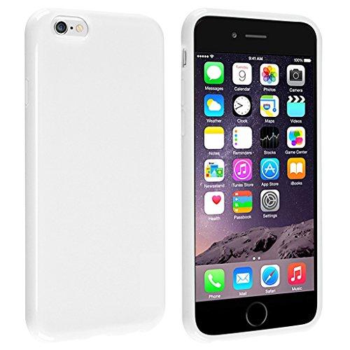iPhone 6/6S Fall, leadpo [Candy Fusion-Serie] TPU Candy Color Soft [Slim Fit] Schutzhülle Case Cover für iPhone 611,9cm [kratzfest] [keine Fingerabdrücke und Öl Fleck] [Slim & Light], iPhone 6/6s 4.7 inch, Crisp-White