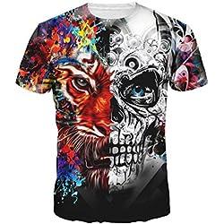 RETUROM - Diseño tigre y cráneo