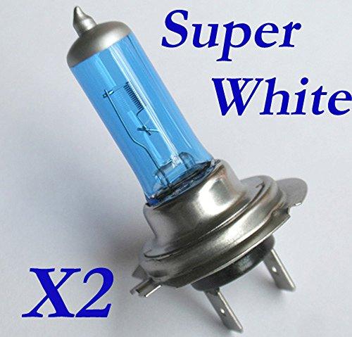 2 Auto Stück Super hell Glühbirnen Glühlampen H7 Xenon Weiss 90W / 100W 12V