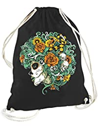 Rock Style Flowers Of Death 702452 GYM Bags