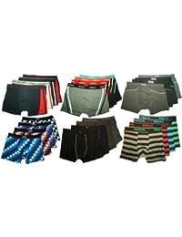 4er Pack Herren Männer Boxershorts GEMISCHT in TOP QUALITÄT Muster Retro 80er Style. Boxer Shorts Unterhosen aus Baumwolle Größen M L XL XXL XXXL