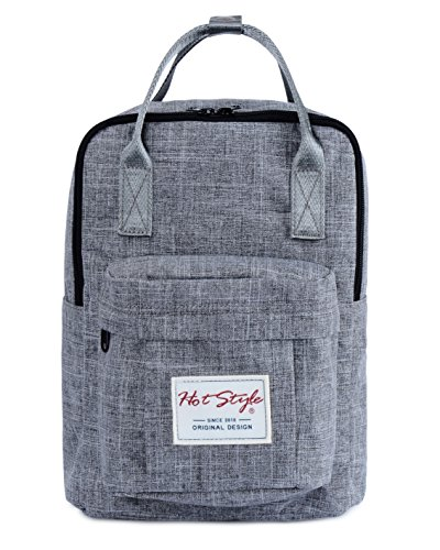 hotstyle-basic-classic-bestie-cute-diaper-bag-backpack-for-mom-14-liters-darkgrey
