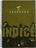 Guerrero 079784 - Cuaderno con índice alfabético, 80 hojas