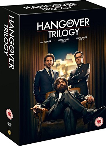 Hangover Complete Movie Trilogy Film [3 Discs] DVD Collection Boxset: Part 1, 2, 3 + Extras by Bradley Cooper