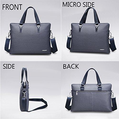 Neu Mode Lässige Kleidung Herren Geschäftsleben Konferenz Aktentasche Handtasche Horizontale Ausgabe Computertasche Black