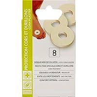 EUROSIREL Pflaster für Hühneraugen und Schwielen aus Scheibe aus Latexschaumstoff Durchmesser 3 cm x 8 Stück preisvergleich bei billige-tabletten.eu