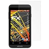 atFolix Schutzfolie kompatibel mit Archos 40 Power Bildschirmschutzfolie, HD-Entspiegelung FX Folie (3X)