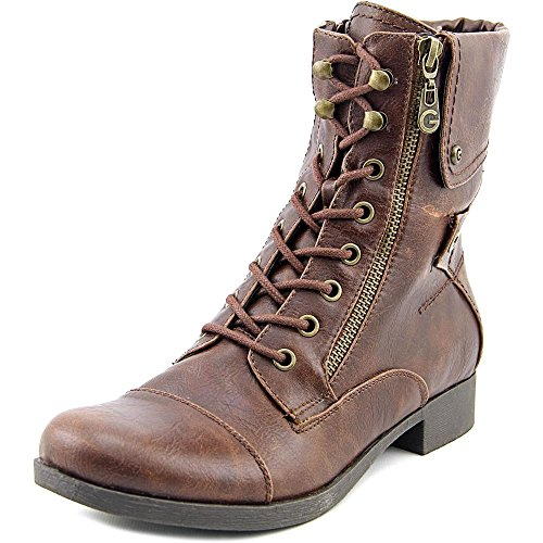 G By Guess Banks Synthétique Botte de Combat Dark Brown