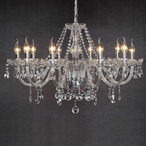 ... Dst Marie Therese Retro Klar Kristall U0026 Glas 10 Zweig Pendelleuchte  Kronleuchter Durchmesser 80cm Höhe 60cm ...