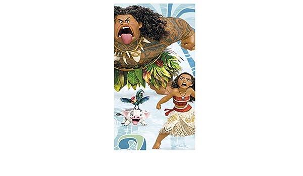 Disney Vaiana Duschtuch Badetuch Strandtuch Velourstuch 70 x 120cm