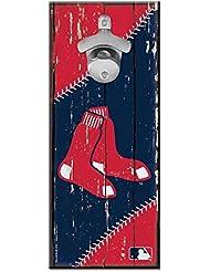 Wincraft MLB Boston Red Sox Plaque avec décapsuleur