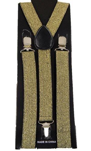 Suspenders - Bretelles - Homme Doré - Or