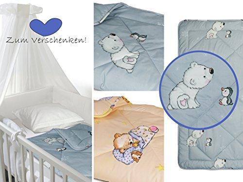 Babykrabbeldecke für Jungen und Mädchen - kindgerechtes Design mit süßem Tiermotiv - erhältlich...