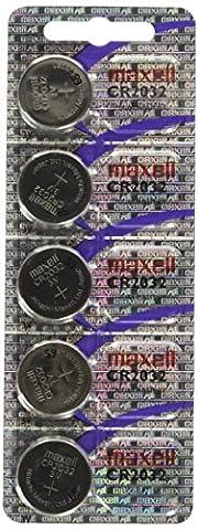 Maxell CR2032-B5MXL–Blister de piles type bouton au lithium CR20323V (5pièces)
