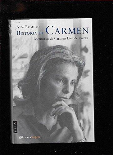 Historia de Carmen (Planeta Singular) por Ana Romero